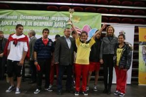 Великденски турнир за деца в риск 2015